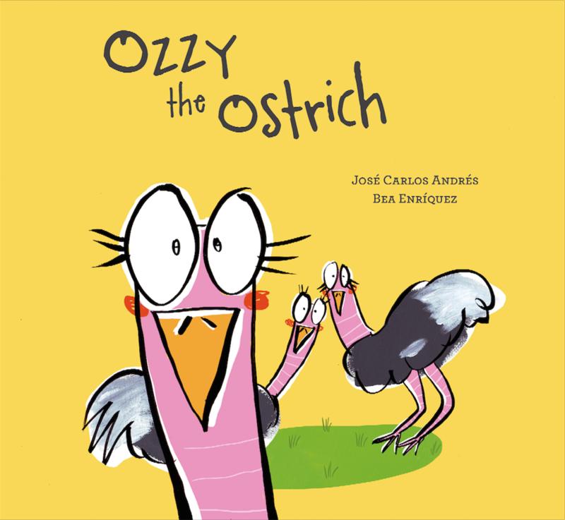 Ozzy the Ostrich: portada