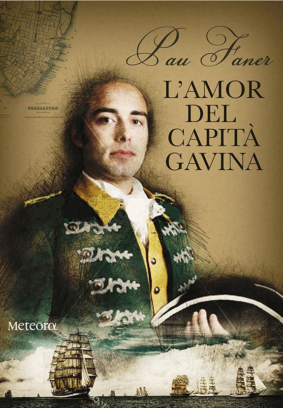 L'amor del capità Gavina: portada