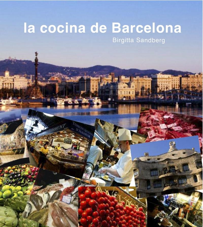 LA COCINA DE BARCELONA. Edición bilingüe castellano-inglés.: portada