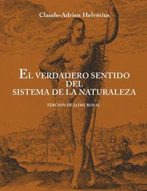 EL VERDADERO SENTIDO DEL SISTEMA DE LA NATURALEZA: portada