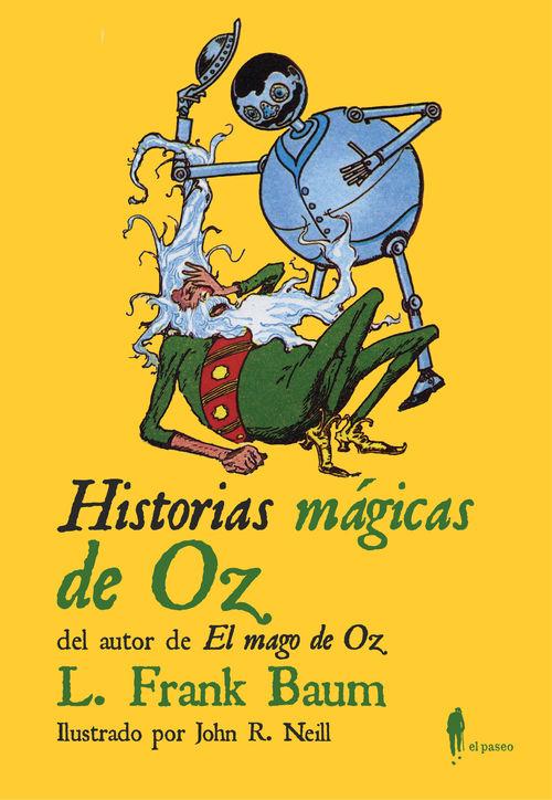 Historias mágicas de Oz: portada