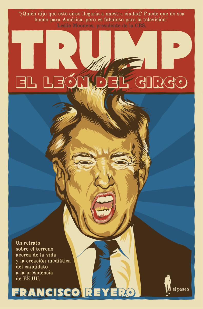 Trump, el león del circo: portada