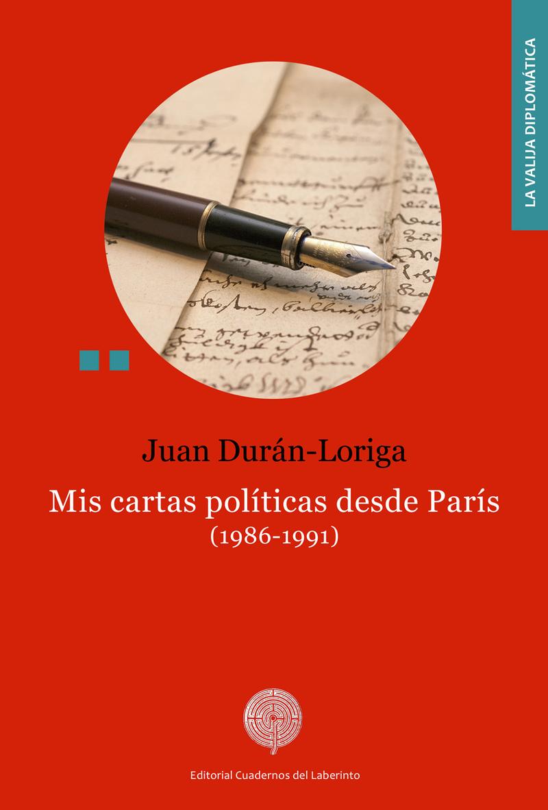Mis cartas políticas desde París. (1986-1991): portada