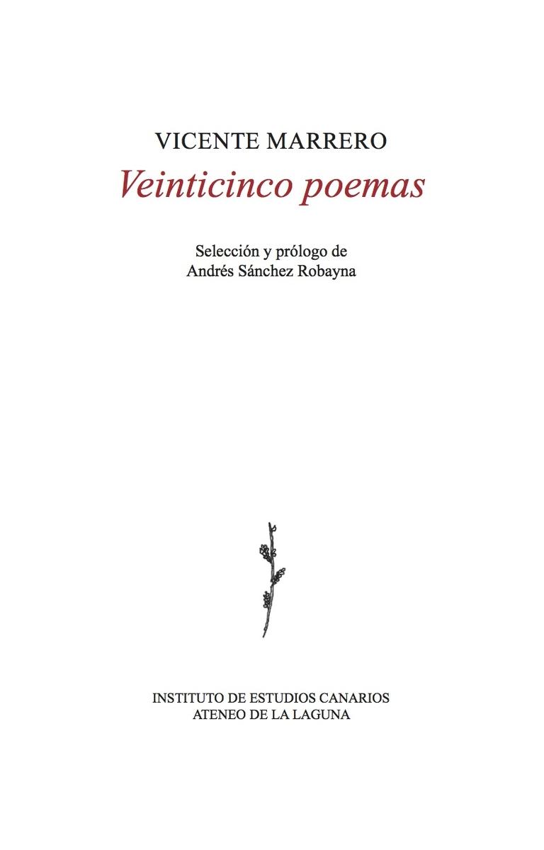 Veinticinco poemas: portada