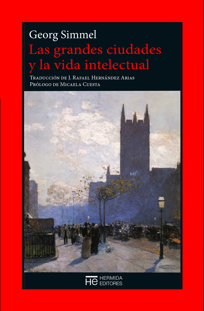 Las grandes ciudades y la vida intelectual: portada