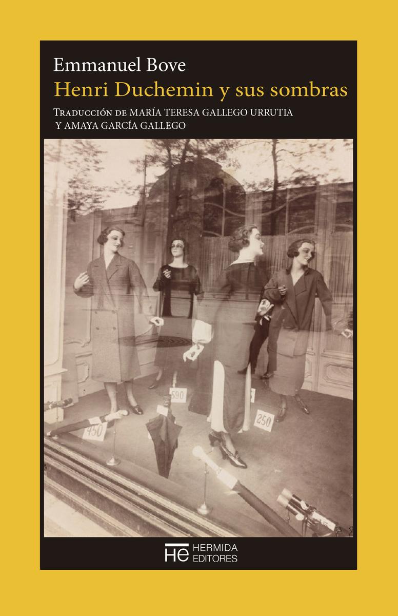 Henri Duchemin y sus sombras: portada