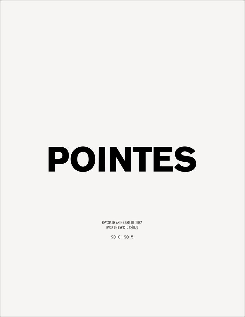 POINTES 2010-2015: portada