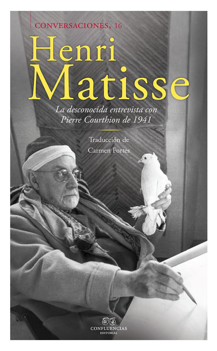 Conversaciones con Henri Matisse (2 vol): portada