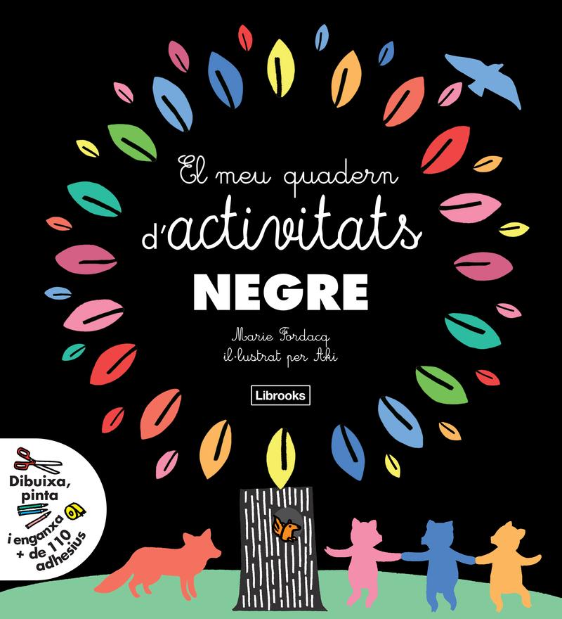 EL MEU QUADERN D'ACTIVITATS NEGRE: portada