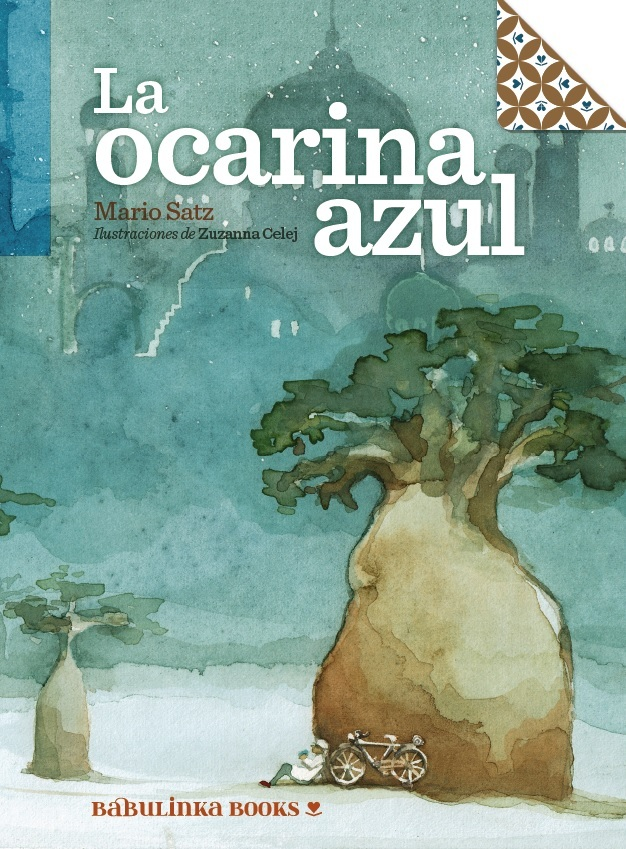LA OCARINA AZUL: portada