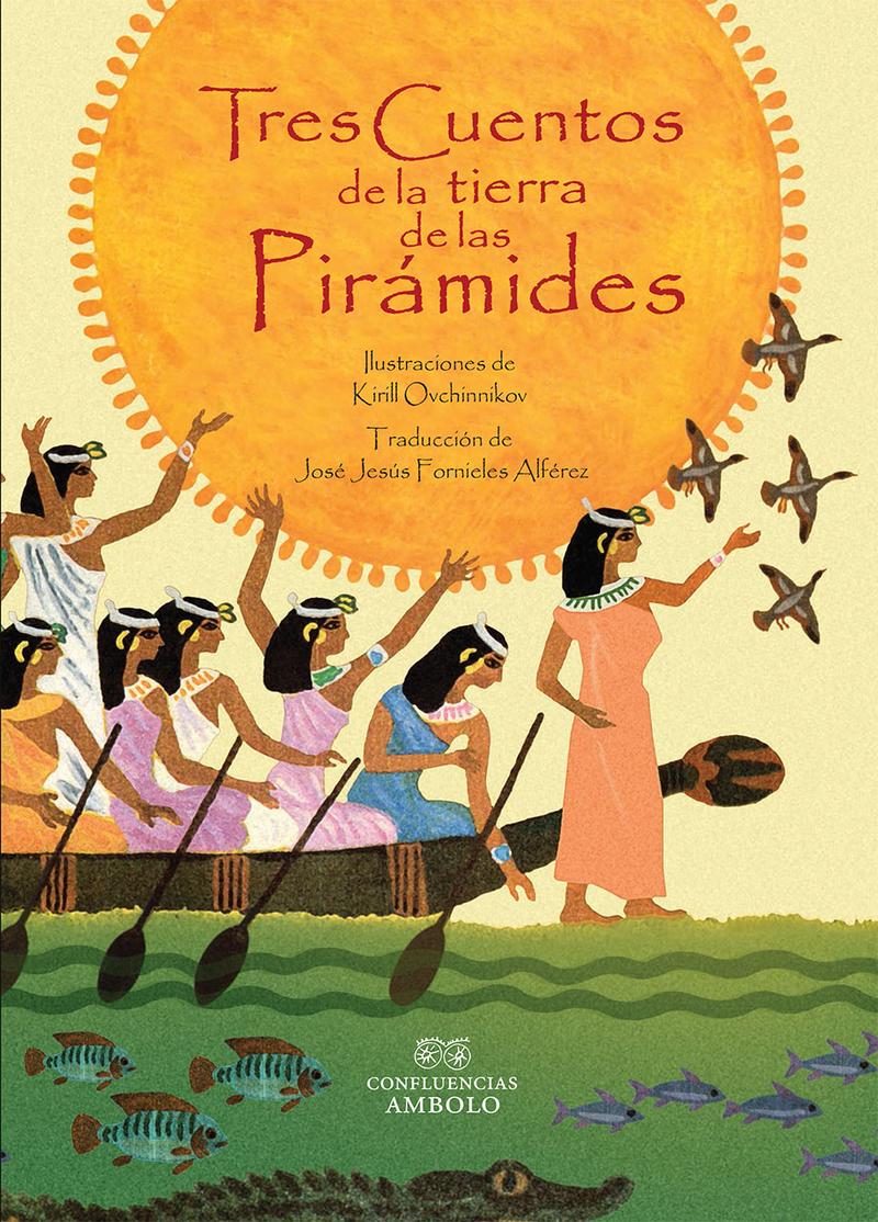 Tres cuentos de la tierra de las pirámides: portada