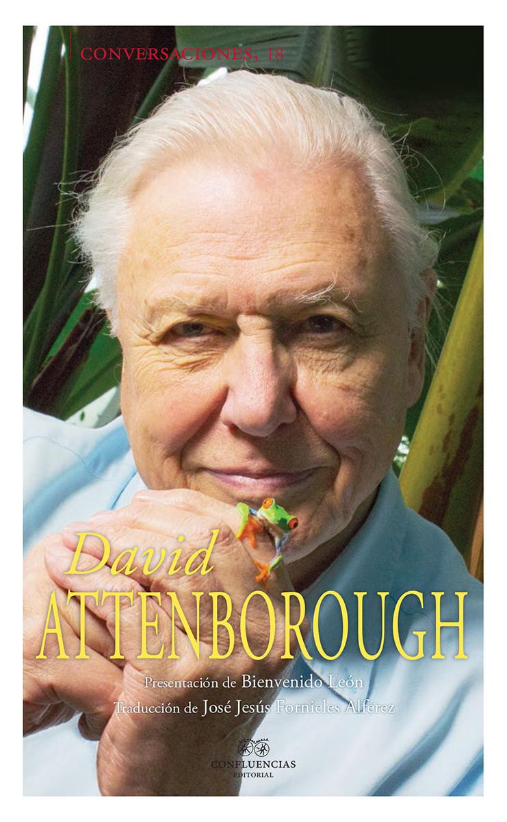 Conversaciones con David Attenborough: portada