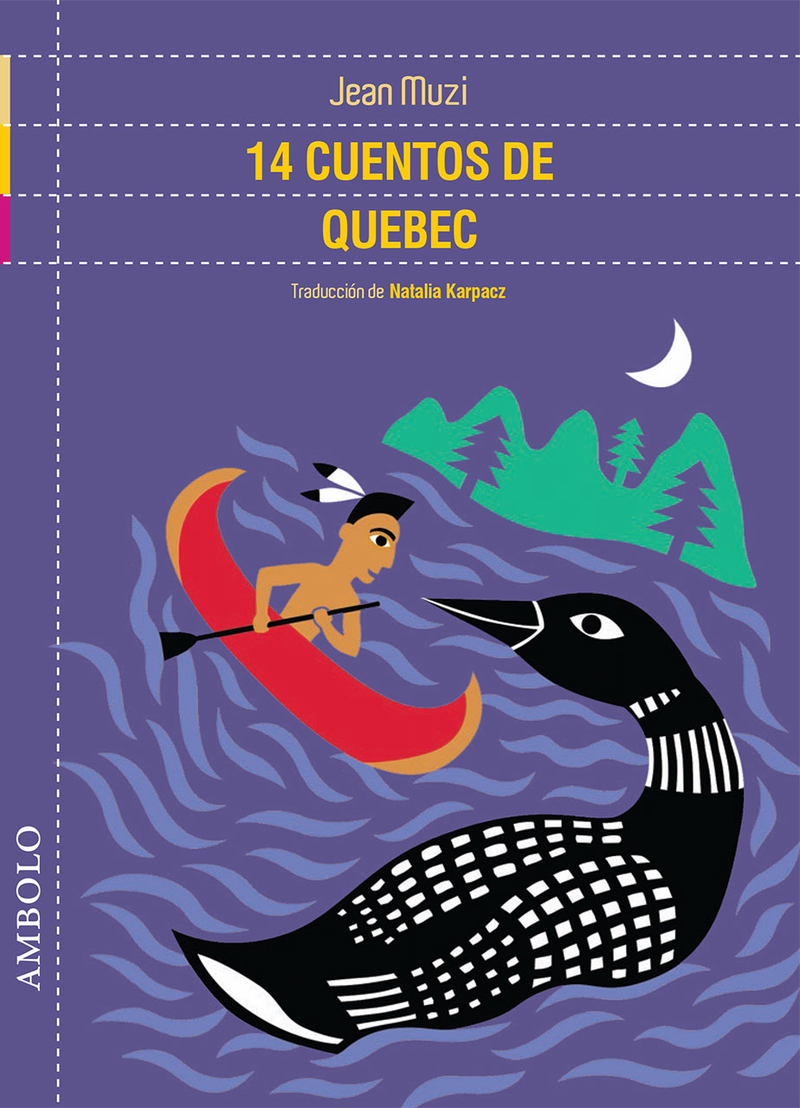 14 cuentos de Quebec: portada