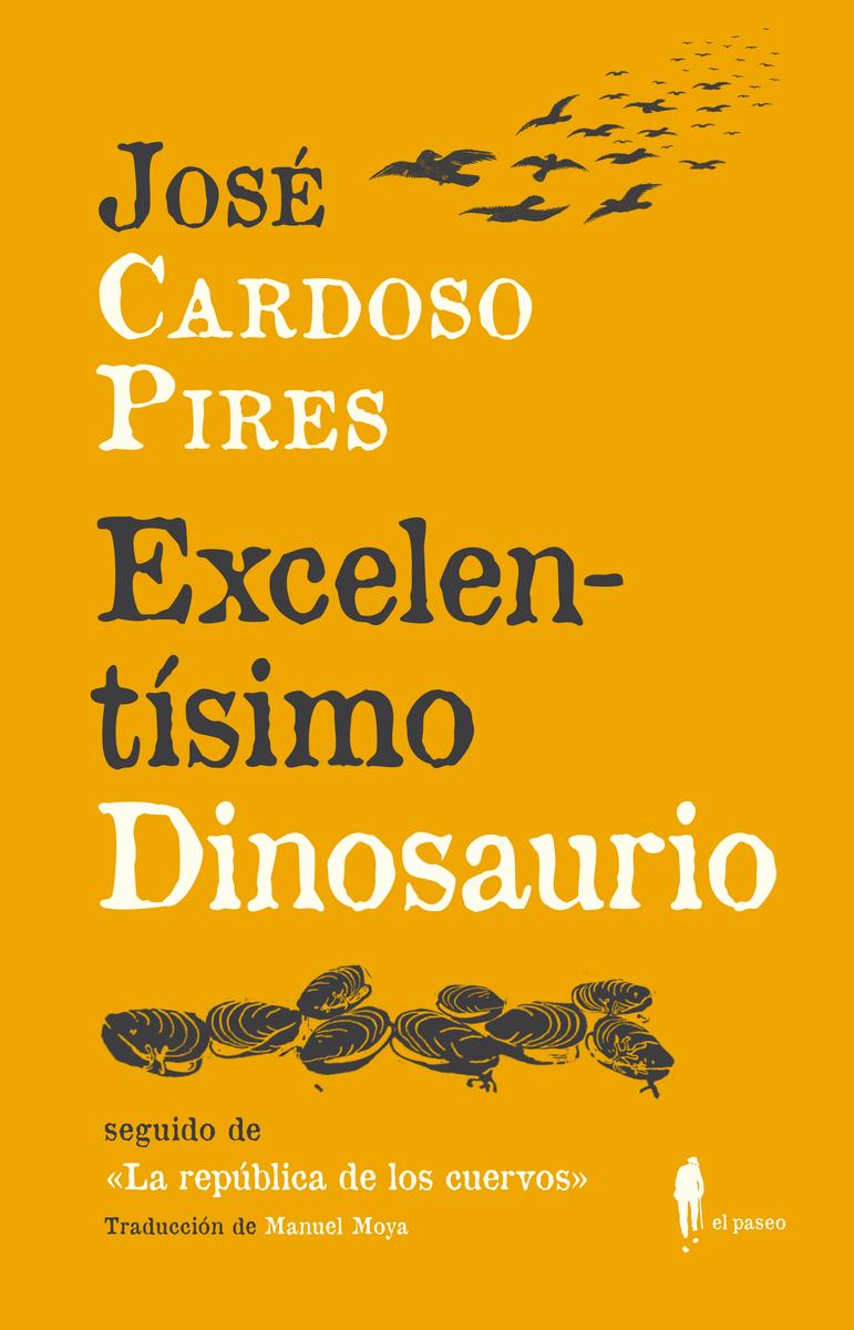Excelentísimo Dinosaurio: portada