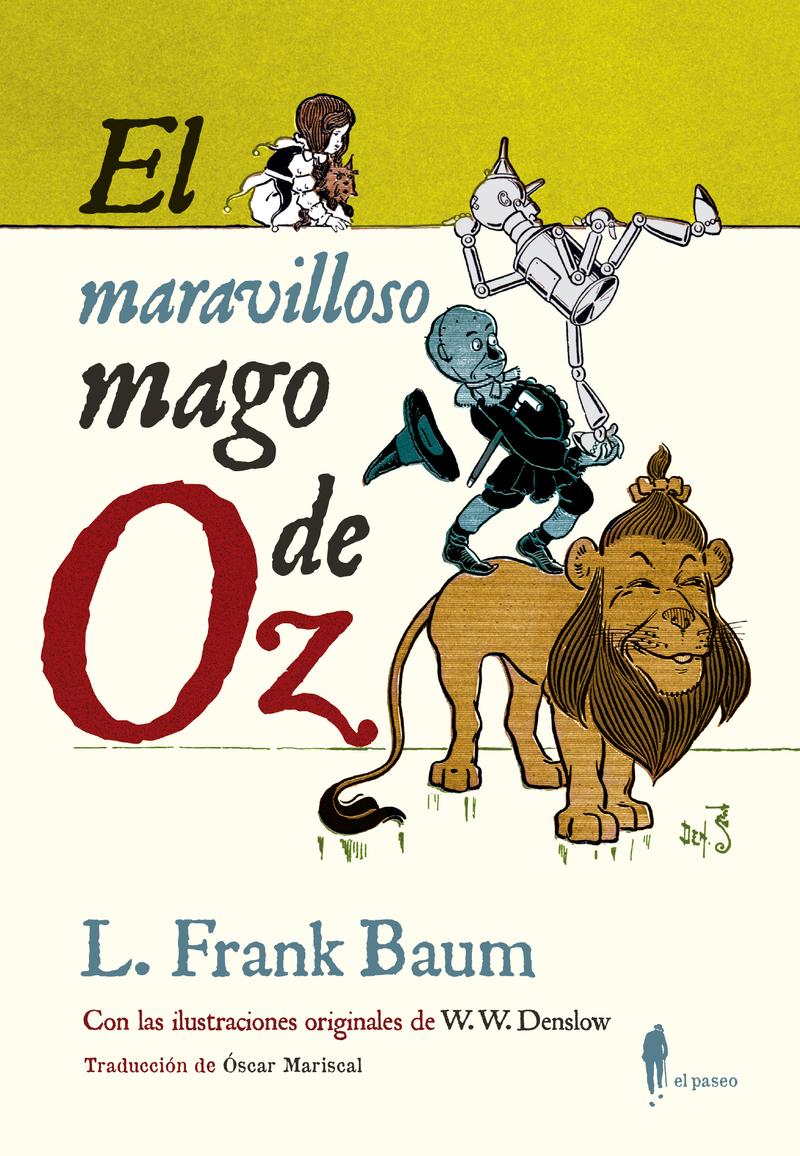 El maravilloso mago de Oz: portada