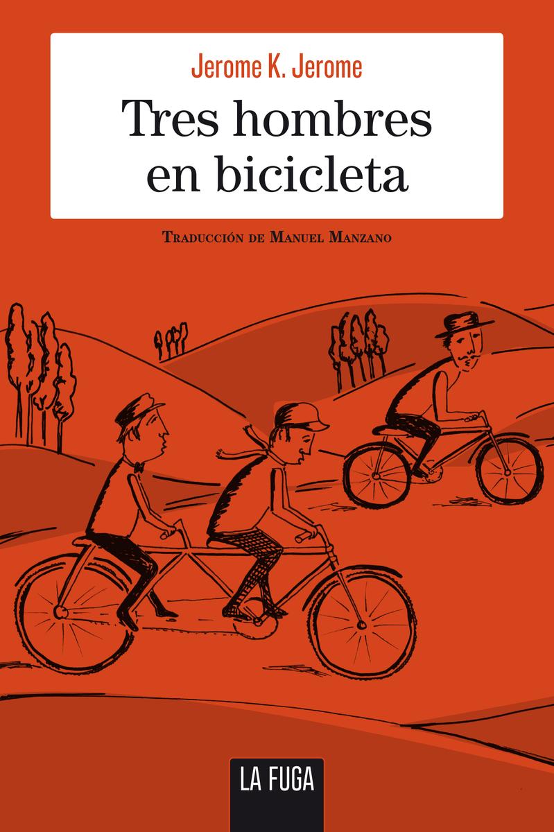 Tres hombres en bicicleta: portada