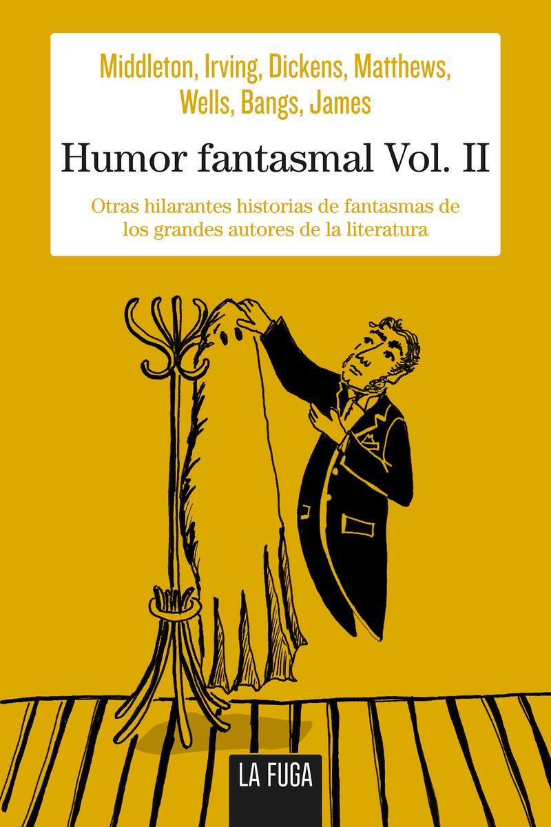 Humor fantasmal Vol. II: portada
