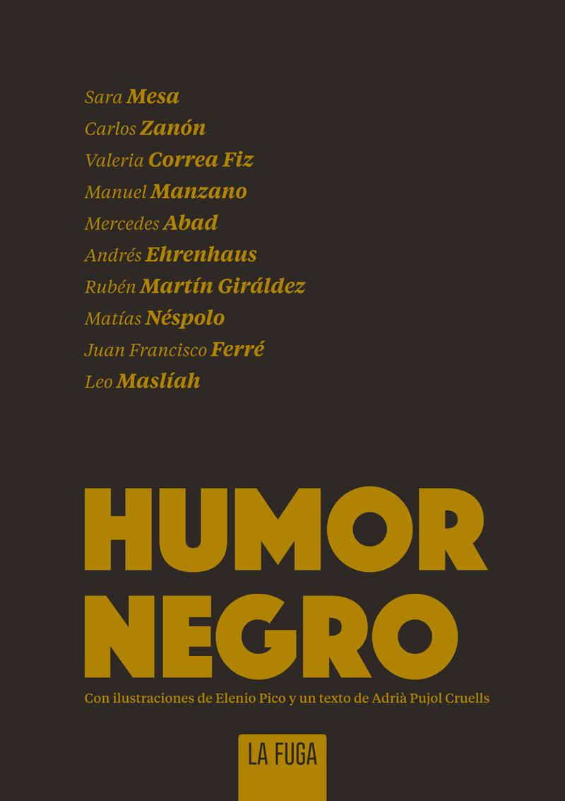 Humor negro: portada