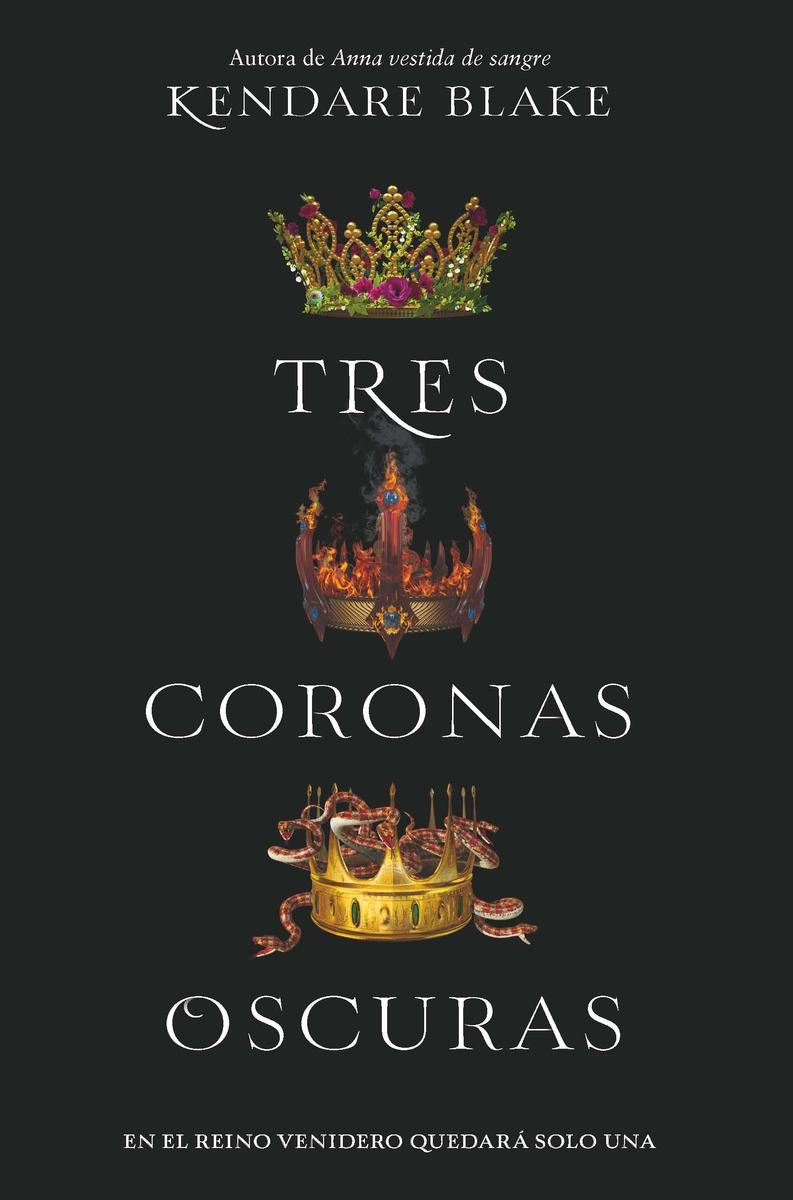 Tres coronas oscuras: portada