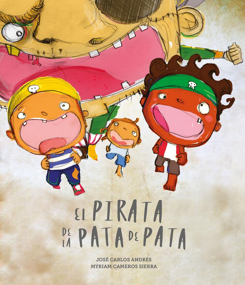 PIRATA DE LA PATA DE PATA, EL: portada