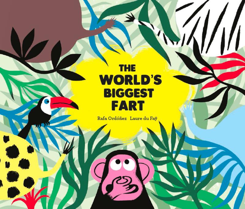 The World's Biggest Fart: portada