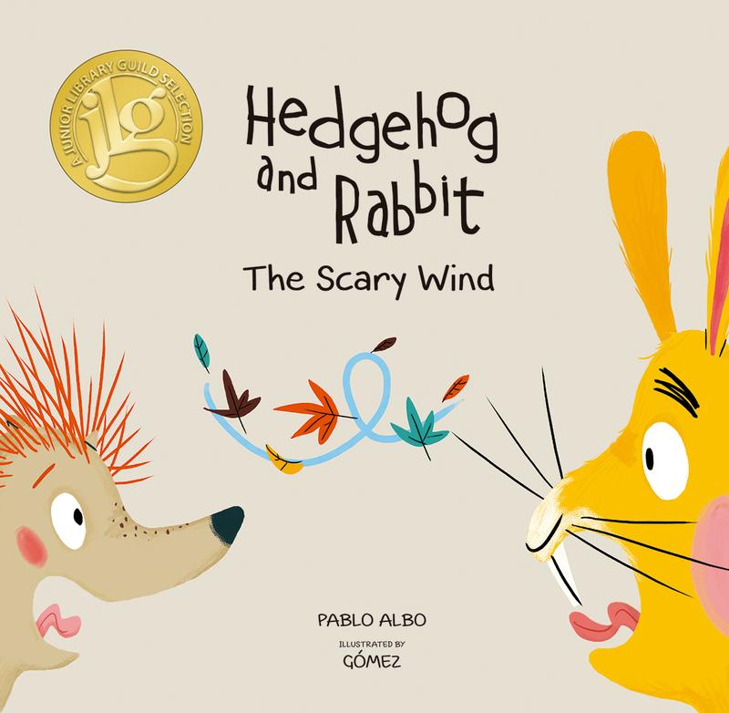 Hedgehog and Rabbit. The Scary Wind: portada