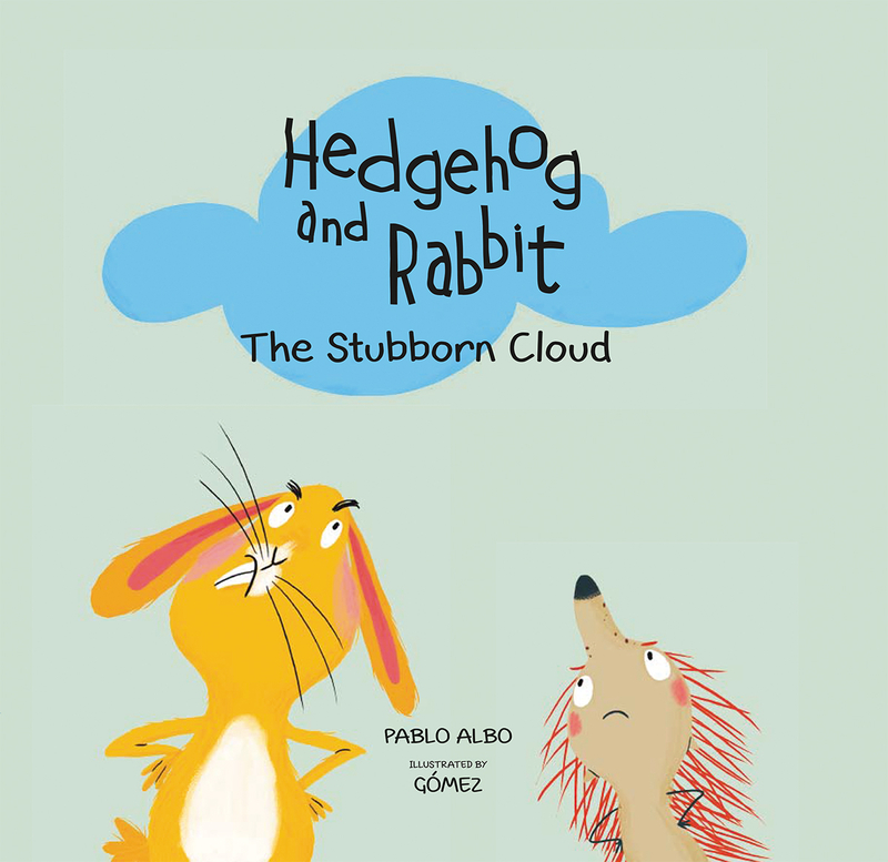 Hedgehog and Rabbit. The Stubborn Cloud: portada