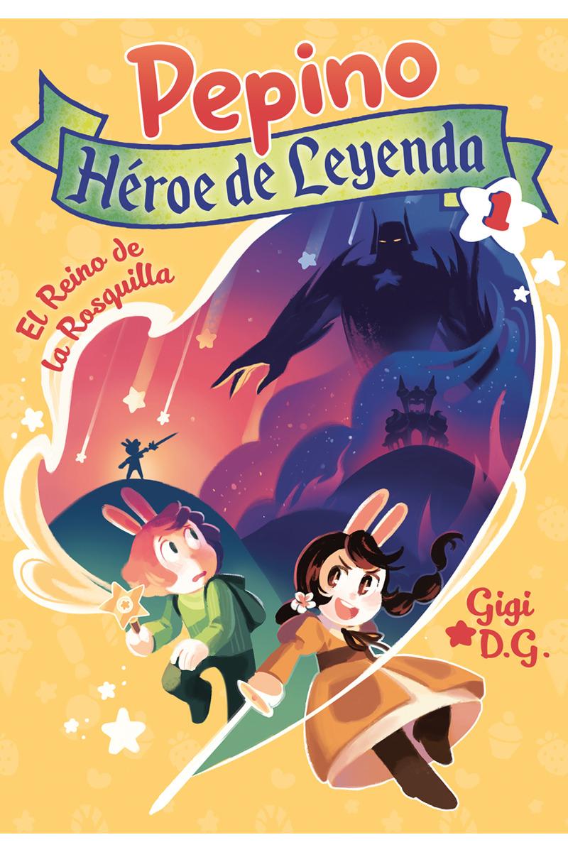 Pepino, Héroe de Leyenda 1: portada