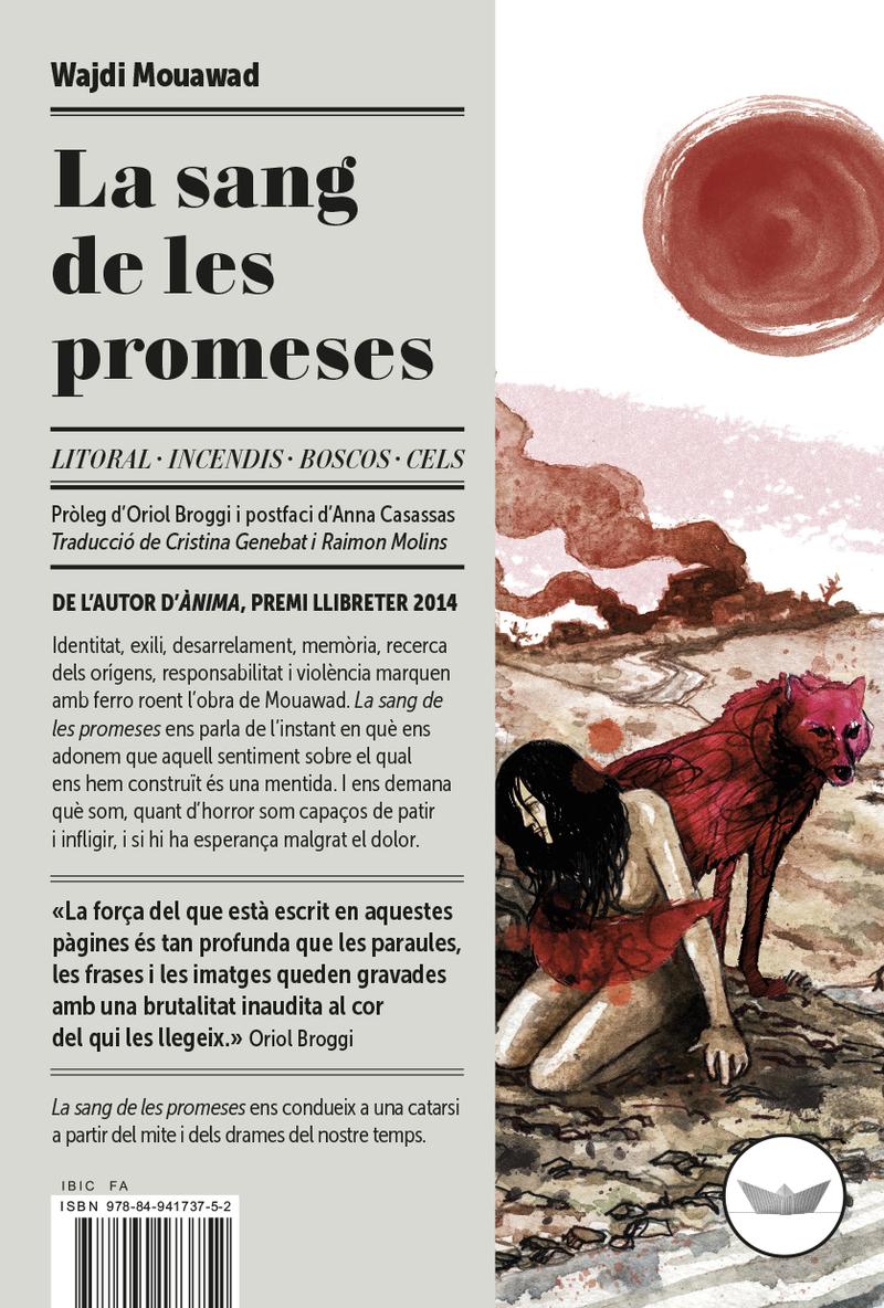 La sang de les promeses: portada