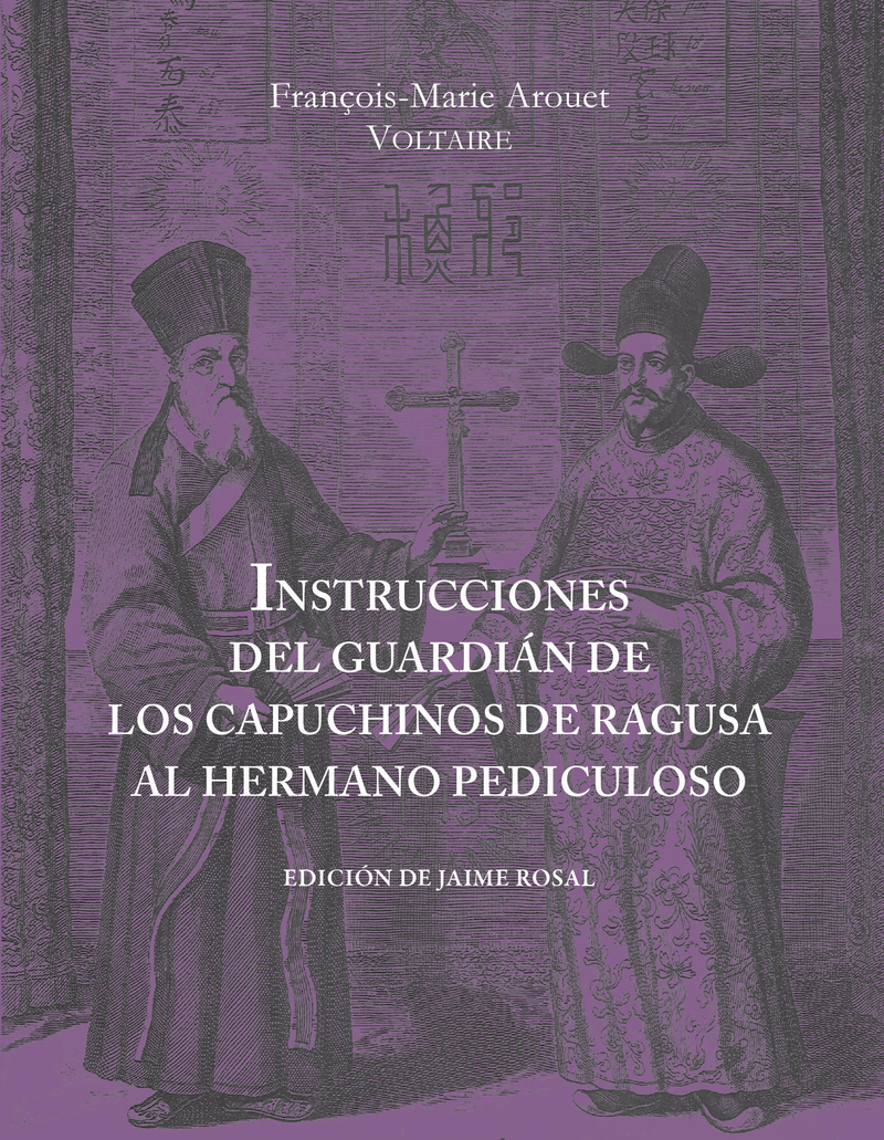 INSTRUCCIONES DEL GUARDIÁN DE LOS CAPUCHINOS DE RAGUSA: portada