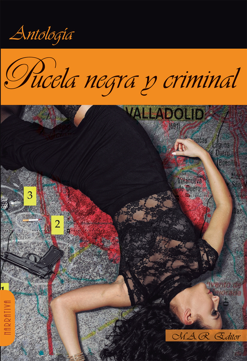 Pucela negra y criminal.: portada