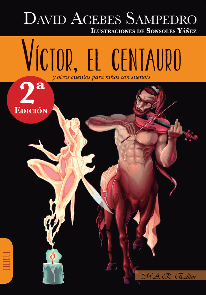 Víctor, el centauro: portada