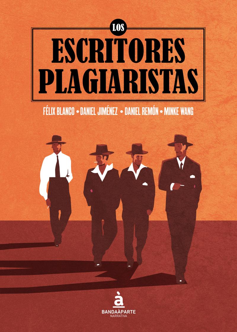 Los escritores plagiaristas: portada