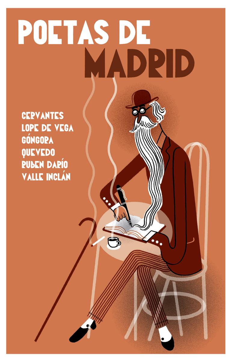 Poetas de Madrid: portada