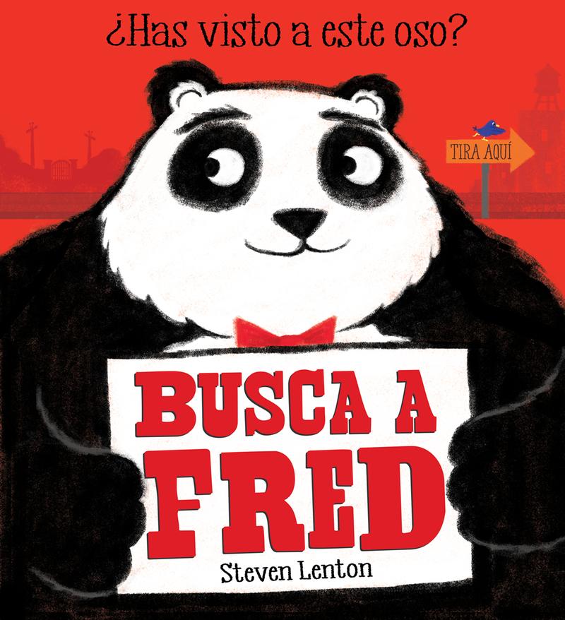 Busca a Fred: portada