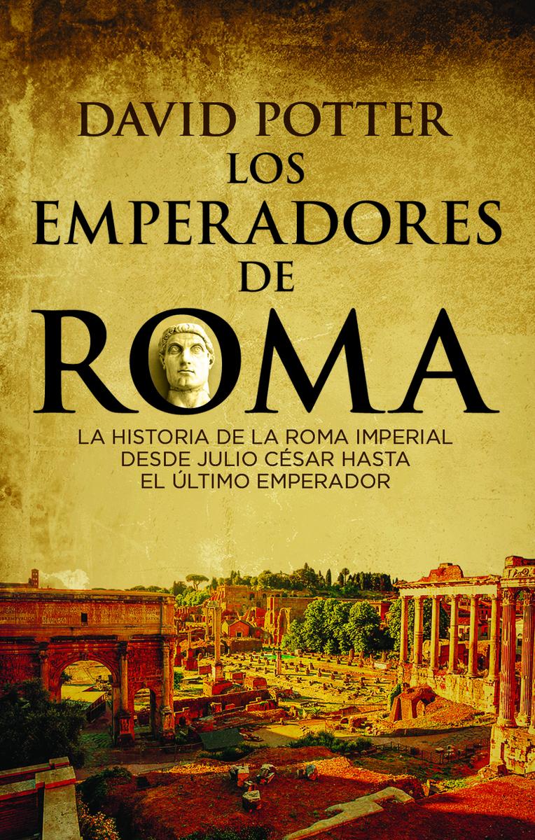 LOS EMPERADORES DE ROMA: portada