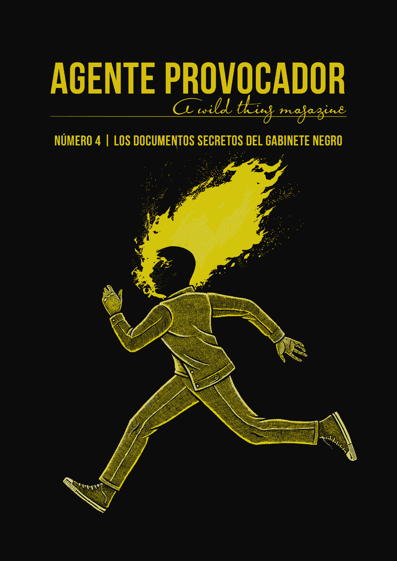AGENTE PROVOCADOR (A WILD THING MAGAZINE) Nº4: portada
