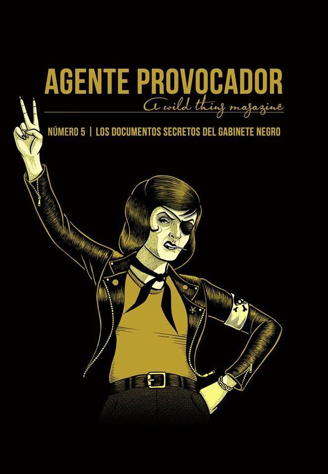 AGENTE PROVOCADOR (A WILD THING MAGAZINE) Nº5: portada