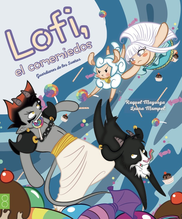Lofi, el comemiedos: portada