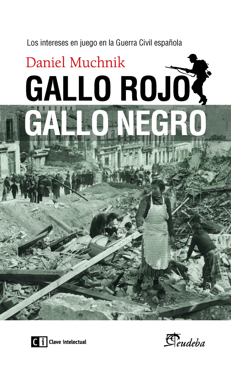 Gallo rojo, gallo negro: portada