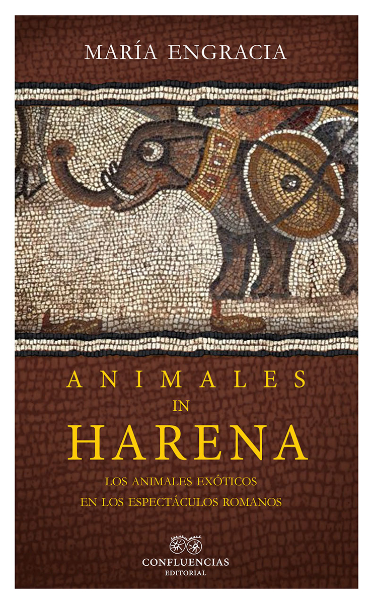 Animales in harena: portada