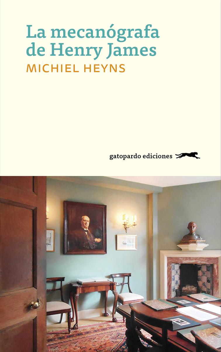 La mecanógrafa de Henry James: portada