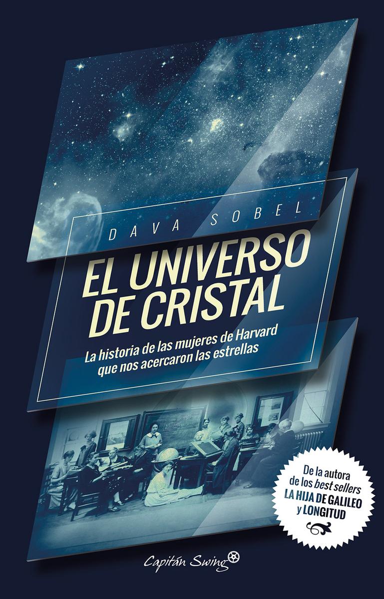 El universo de cristal: portada