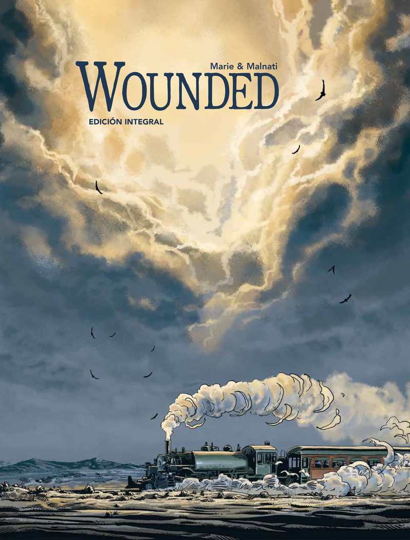 WOUNDED: portada