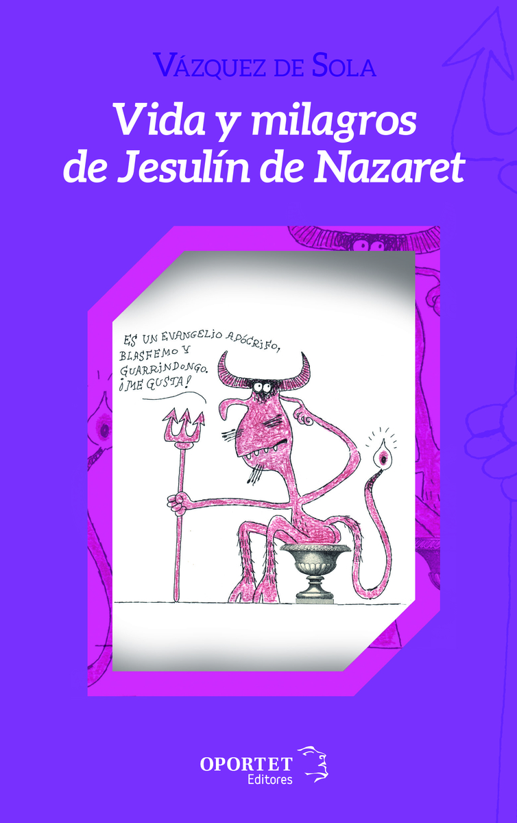 Vida y milagros de Jesulín de Nazaret: portada