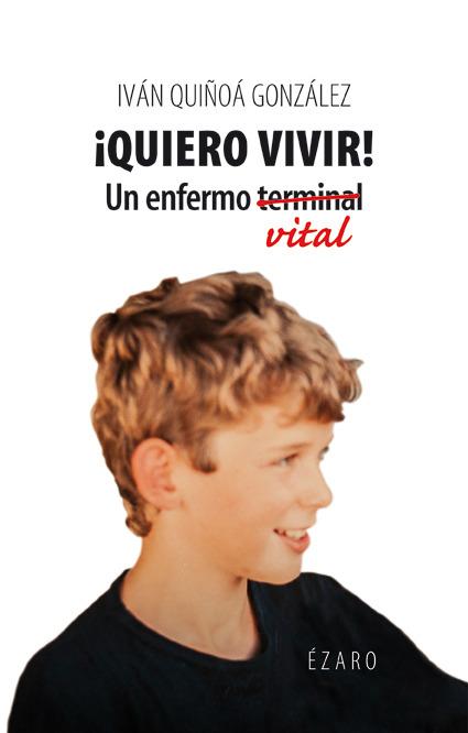 QUIERO VIVIR: portada