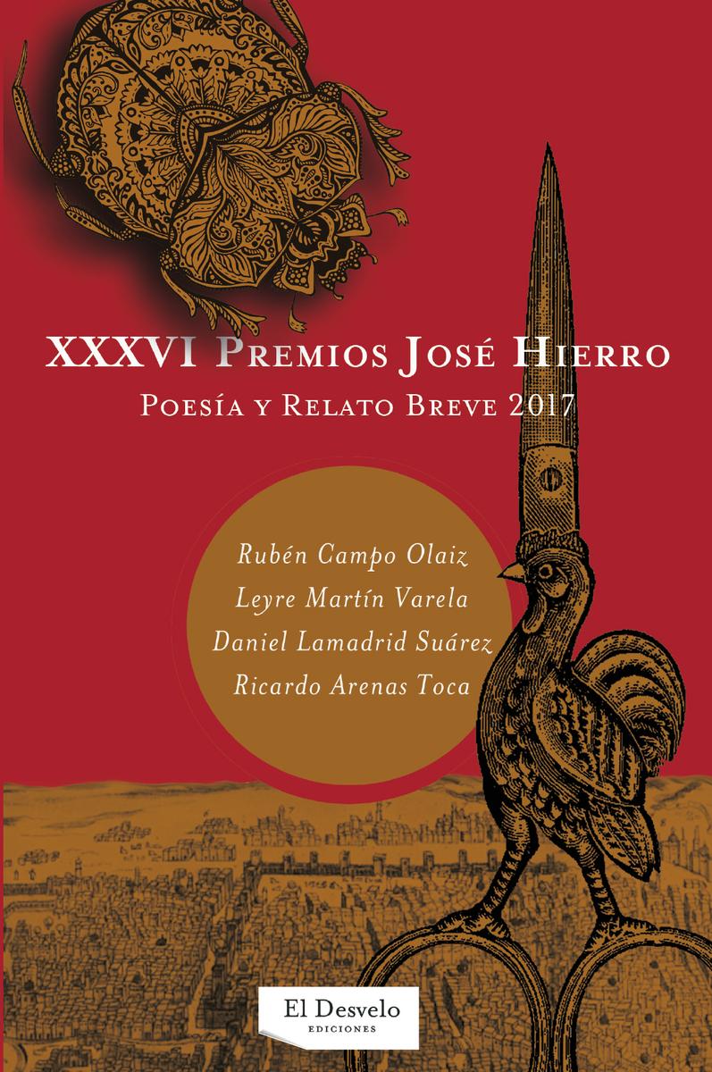 XXXVI Premios José Hierro: portada