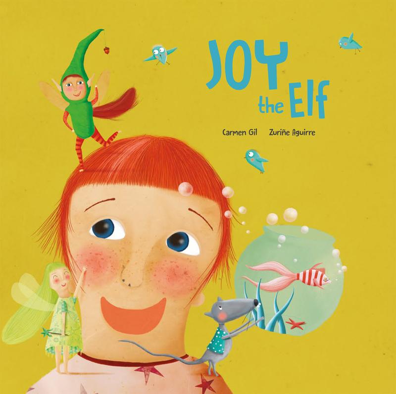 Joy the Elf: portada