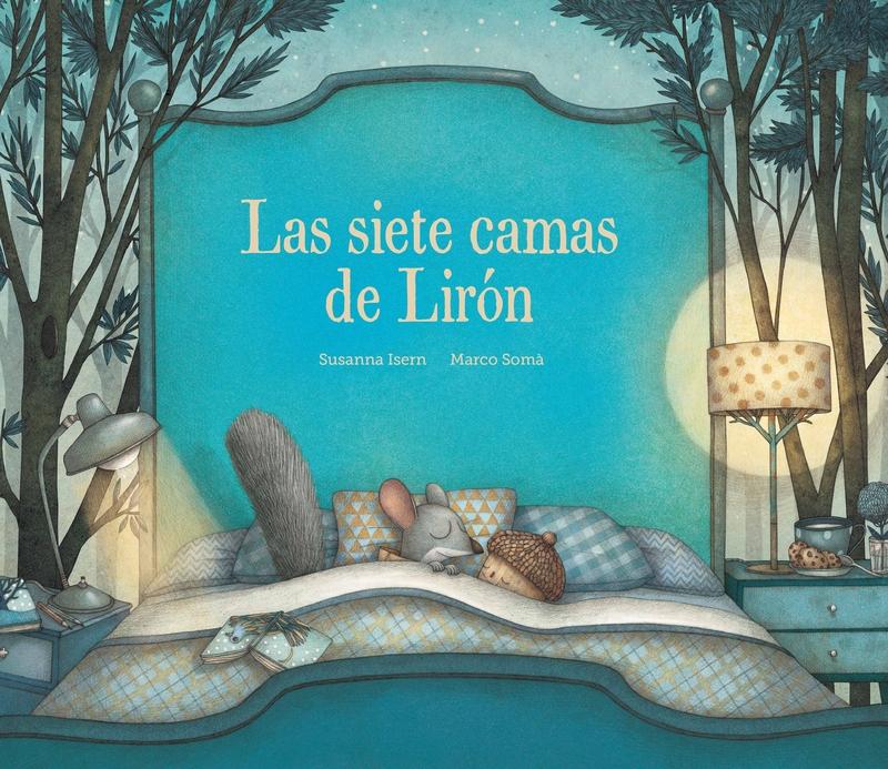 Las siete camas de Lirón: portada
