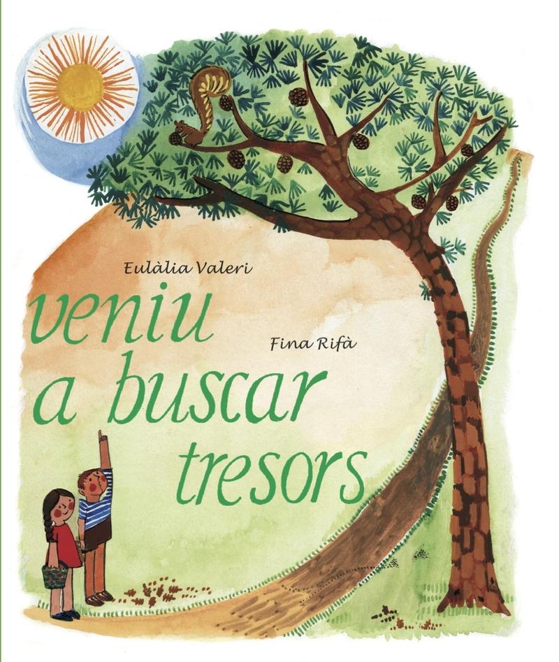 VENIU A BUSCAR TRESORS: portada